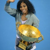 By winning the China Open, Serena Williams claimed her 73rd match win of 2013, a dominant season that has seen her win two major titles and become the oldest woman in history to return to world No.1. The American's win-loss record currently stands at 73-4 - she'd never before exceeded 58 match wins in a season - with the WTA Championships still to come; Ed Jones/AFP/Getty Images