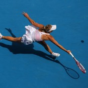 Caroline Wozniacki clinched the WTA year-end No.1 ranking in both 2010 and 2011, a result that raised eyebrows given she didn't even appear in a Grand Slam final in either of those years; Getty Images