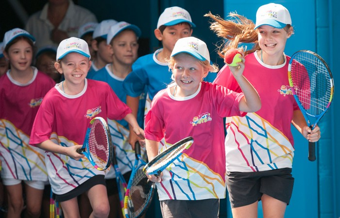 Hot Shots, Australian Open, Rod Laver Arena. JAIMI CHISHOLM