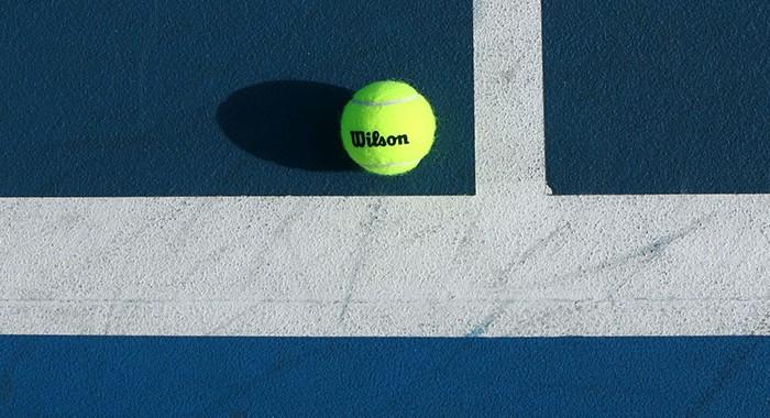 ball, tennis court