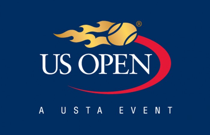 Resultat d'imatges de us open logo tenis