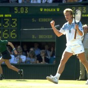 Stefan Edberg, pictured winning Wimbledon in 1990, finished that season and 1991 as world No.1. The Swede's consistency was such that he ended the season ranked inside the top five from 1985 to 1993; Getty Images