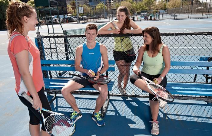 tennis, social