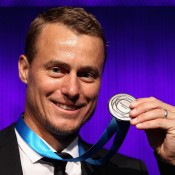Lleyton Hewitt, Newcombe Medal, Australian Tennis Awards 2013. GETTY IMAGES