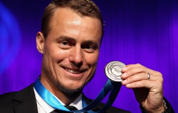 Lleyton Hewitt, Newcombe Medal, Australian Tennis Awards 2013. GETTY IMAGES