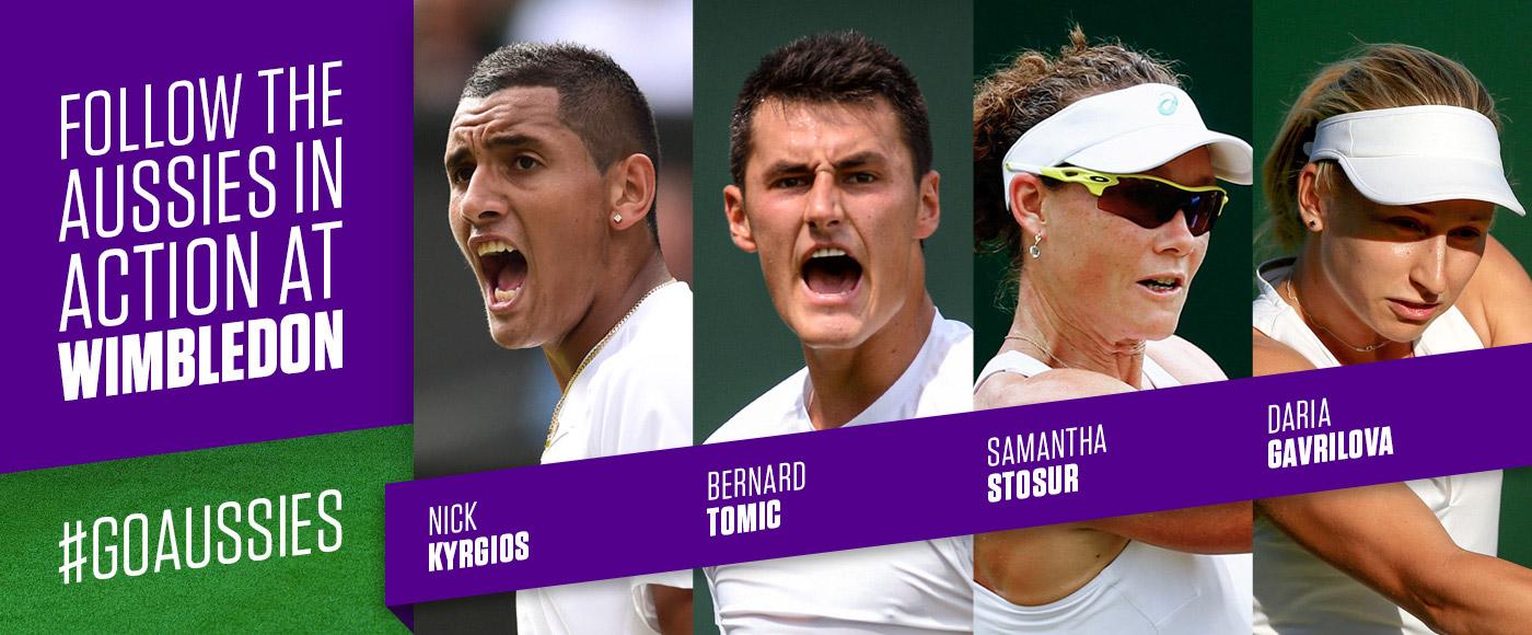 Aussies Wimbledon banner large