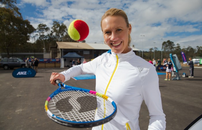 Benefits of tennis - Alicia Molik - TENNIS AUSTRALIA