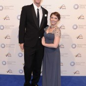 Chris and Andra Guccione, Newcombe Medal, Australian Tennis Awards 2013. XUE BAI