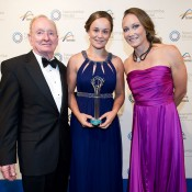 Rod Laver, Ash Barty and Sam Stosur, Newcombe Medal, Australian Tennis Awards 2013. XUE BAI