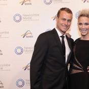 Lleyton and Bec Hewitt, Newcombe Medal, Australian Tennis Awards 2013. XUE BAI