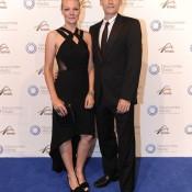 Peter and Catarina Luczak, Newcombe Medal, Australian Tennis Awards 2013. XUE BAI