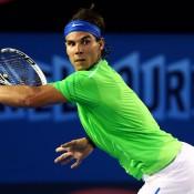 Rafael Nadal, Australian Open, 2012. GETTY IMAGES1024-x-768