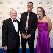 Rod Laver, Nick-Kyrgios, Samantha Stosur, Newcombe Medal, Australian Tennis Awards 2013, Melbourne. XUE BAI