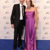 Sam Stosur (right) and former coach Craig Morris, Newcombe Medal, Australian Tennis Awards 2013. XUE BAI