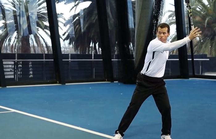 Scott Draper, National Tennis Centre, Melbourne, 2013. TENNIS AUSTRALIA
