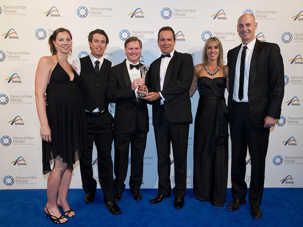 Shaw Park Tennis Centre, Newcombe Medal, Australian Tennis Awards 2013, Melbourne. XUE BAI