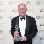 Tony Roche, Newcombe Medal, Australian Tennis Awards 2013, Melbourne. XUE BAI