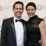 Todd and Natasha Woodbridge, Newcombe Medal, Australian Tennis Awards 2013. XUE BAI