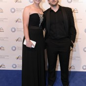 Jelena Dokic and Tin Bicic, Newcombe Medal, Australian Tennis Awards 2013. XUE BAI