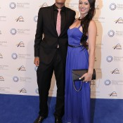 Nick Kyrgios (left), Newcombe Medal, Australian Tennis Awards 2013. XUE BAI