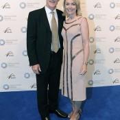 John and Jenny Fitzgerald, Newcombe Medal, Australian Tennis Awards 2013. XUE BAI