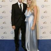 Ben Mitchell (left), Newcombe Medal, Australian Tennis Awards 2013. XUE BAI