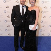 Storm Sanders (right), Newcombe Medal, Australian Tennis Awards 2013. XUE BAI