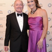 Rod Laver and Sam Stosur, Newcombe Medal, Australian Tennis Awards 2013. XUE BAI