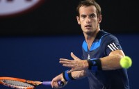Andy Murray, Australian Open, 2014. GETTY IMAGES