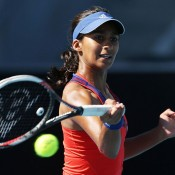 Naiktha Bains, Hobart International, 2014. GETTY IMAGES