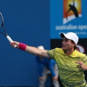 Bradley Mousley of Australia in action.  (Photo by Clive Brunskill/Getty Images)