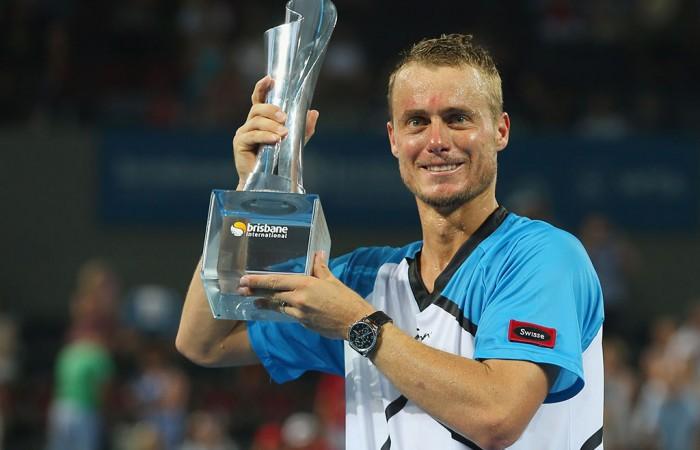 Lleyton Hewitt, Brisbane International, 2014