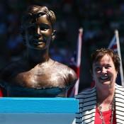 Kerry Reid, Australian Open, 2014, Australian Tennis Hall of Fame, Melbourne. GETTY IMAGES