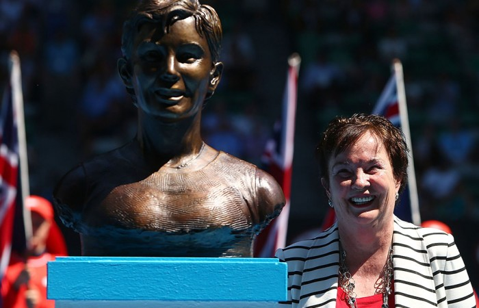 Kerry Reid, Australian Open, 2014, Australian Tennis Hall of Fame, Melbourne. GETTY IMAGES
