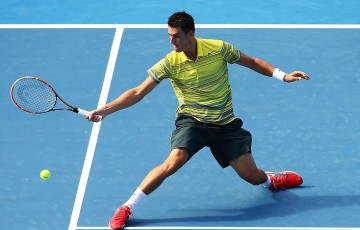 Bernard Tomic of Australia.  (Photo by Mark Nolan/Getty Images)
