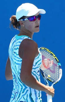 Arina Rodionova in action at Australian Open 2015; Getty Images