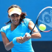 Naiktha Bains, Australian Open 2014, Girls' Junior Championships, Melbourne. GETTY IMAGES