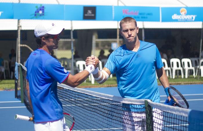 Toshihide Matsui and James Duckworth, Charles Sturt Adelaide International.
