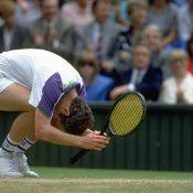 John McEnroe, Wimbledon, 1992. GETTY IMAGES