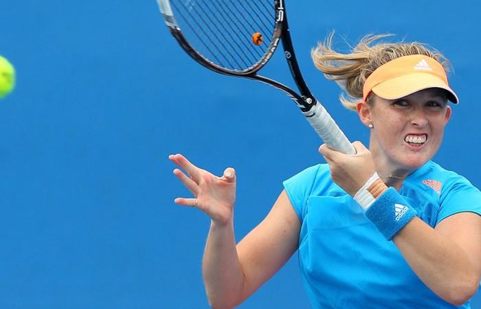 Storm Sanders, Australian Open, Melbourne, 2014. GETTY IMAGES