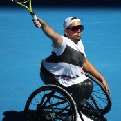 Dylan Alcott in action at Australian Open 2019 (Getty Images)