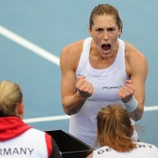 Andrea Petkovic, Germany. Photo by MATT ROBERTS/GETTY IMAGES