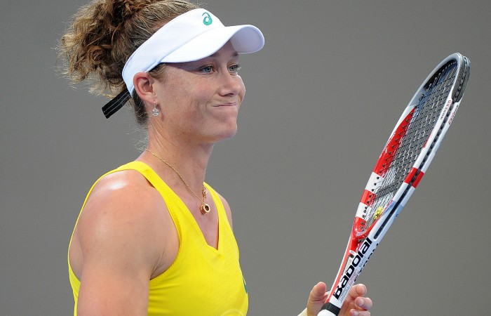 Sam Stosur, Australia. Photo by MATT ROBERTS/GETTY IMAGES