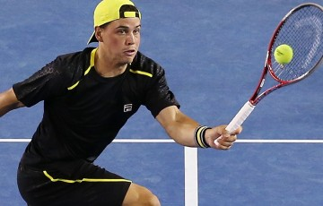 Alex Bolt in action at Australian Open 2014; Getty Images