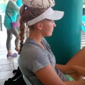 Maddison Inglis beats the heat in Kuching, Malaysia; Tennis Australia