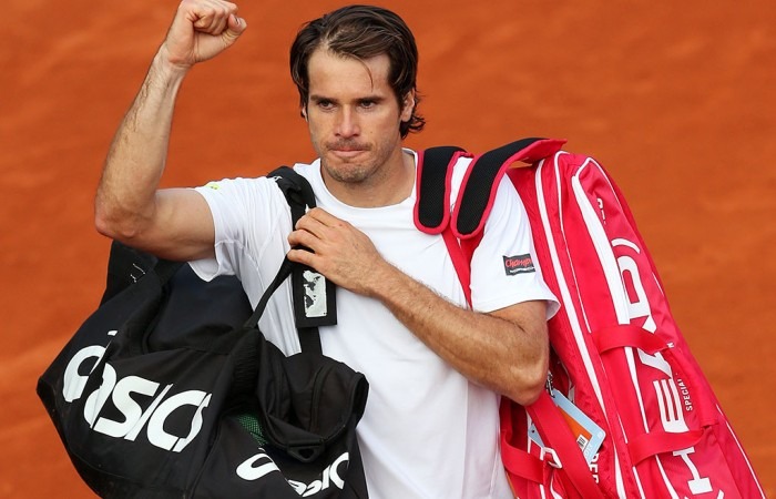 Tommy Haas, French Open, 2013. GETTY IMAGES