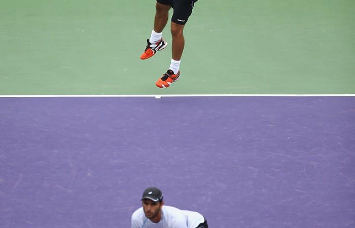 Robert Farah and Juan Sebastian Cabal, Miami. GETTY IMAGES