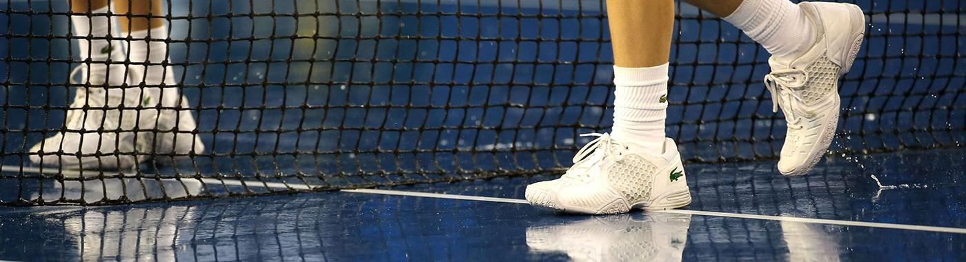Rain falls at Australian Open 2014, Melbourne Park, Melbourne. GETTY IMAGES