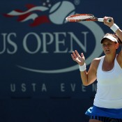 Casey Dellacqua, US Open, 2014. GETTY IMAGES