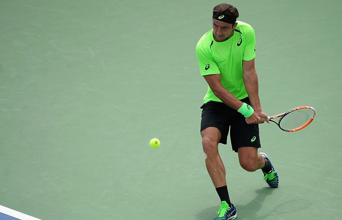 Marinko Matosevic in action at the ATP Cincinnati Masters; Getty Images